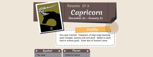 Careers for Capricorns