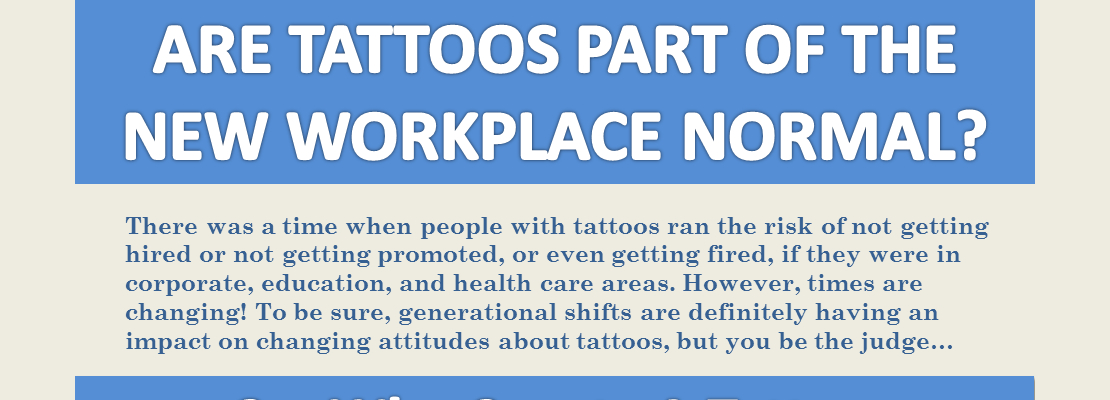 Discrimination Against Tattoos in the Workplace