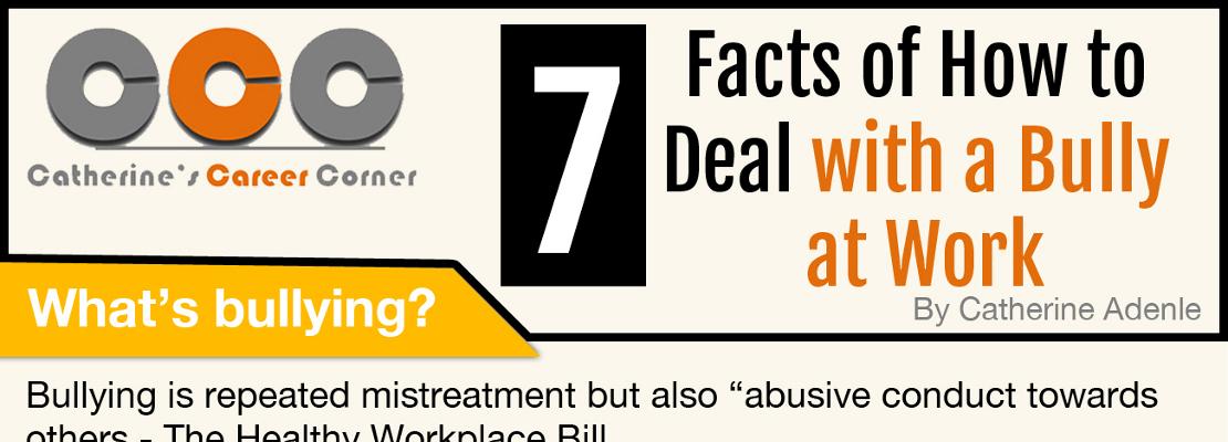 Workplace Bullying Fact Sheet