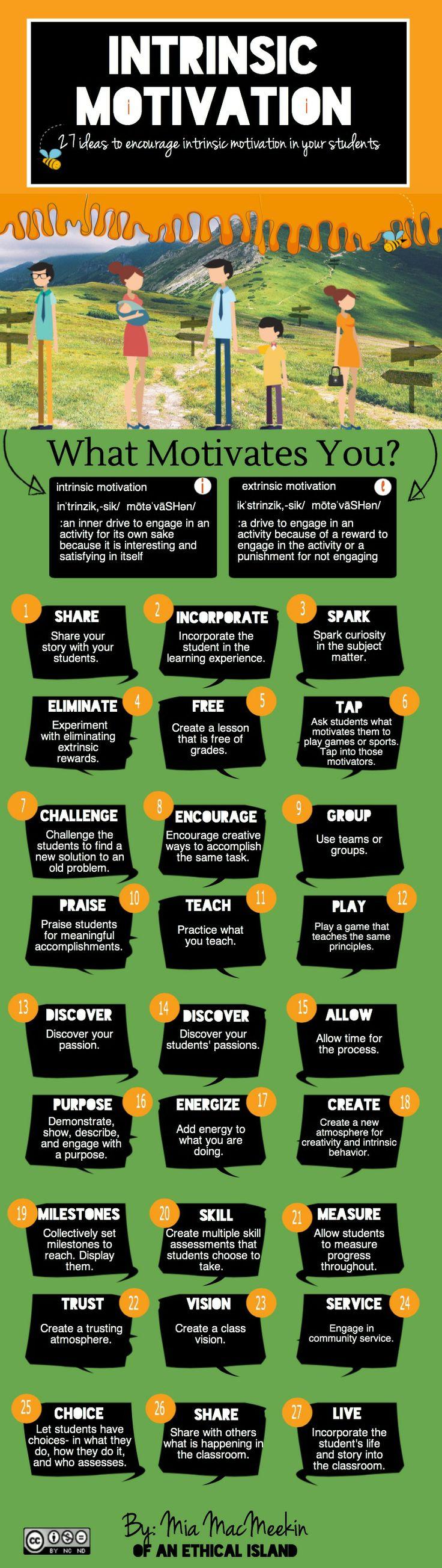 Intrinsic Motivation Ideas