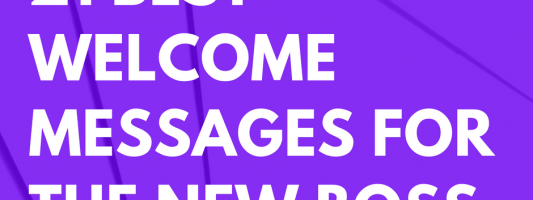 21 best welcome messages for the new boss futureofworkingcom
