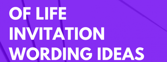 25 Celebration of Life Invitation Wording Ideas