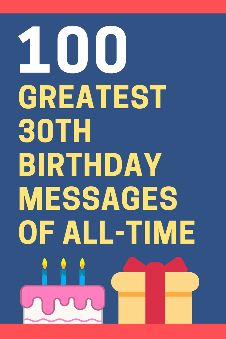 30th Birthday Messages