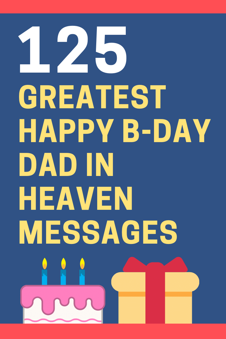 Birthday Messages for Dad in Heaven