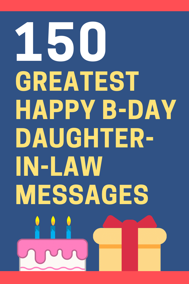 Birthday Messages for Daughter-in-Law