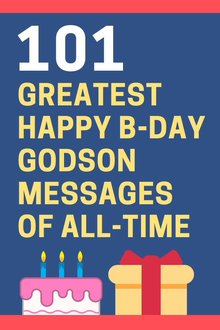 Birthday Messages for Godsons