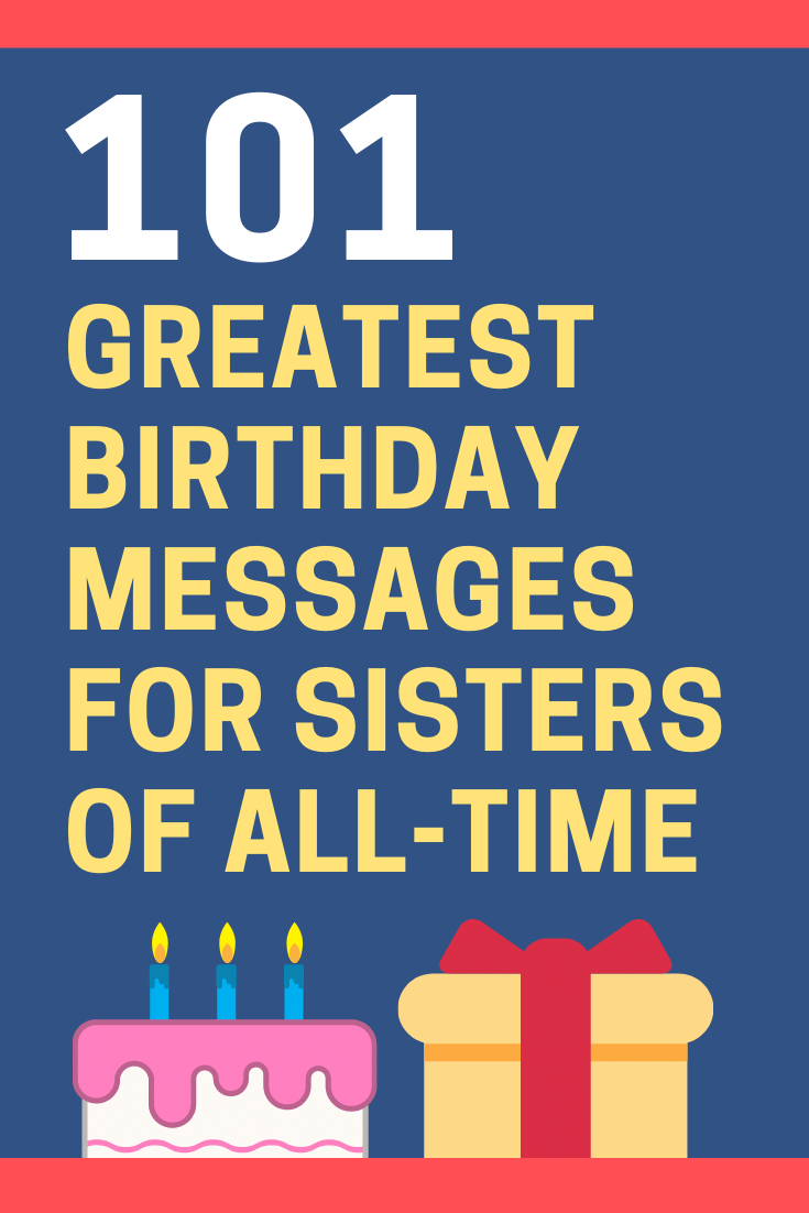 Birthday Messages for Sisters