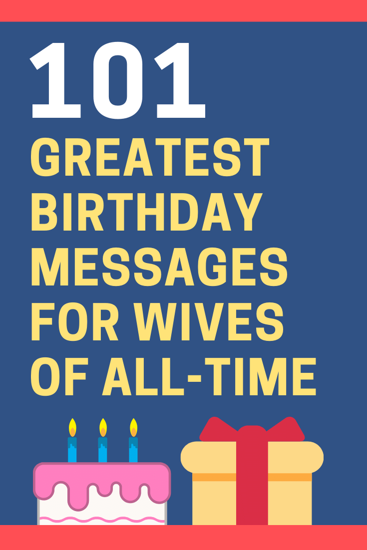 Birthday Messages for Wives