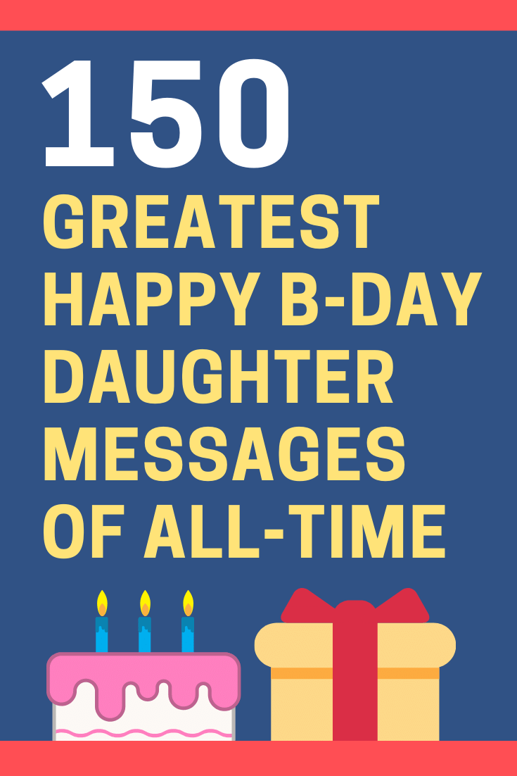 Birthday Messages for Your Daughter