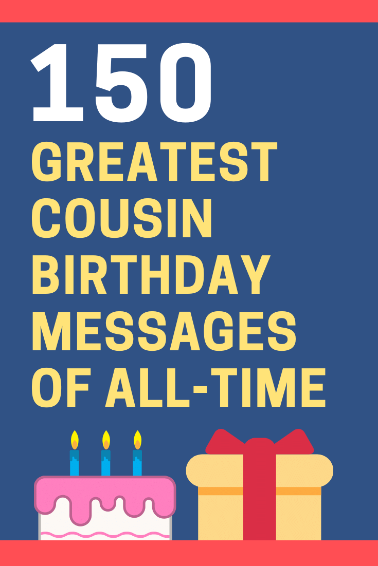 Cousin Birthday Messages
