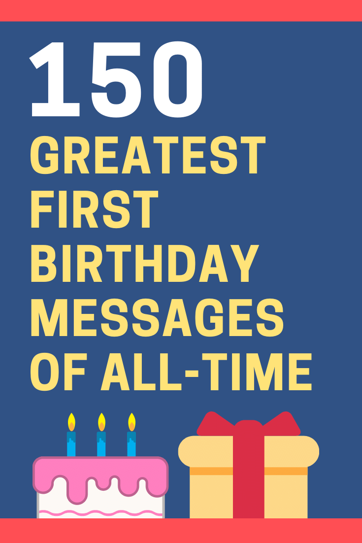 First Birthday Messages