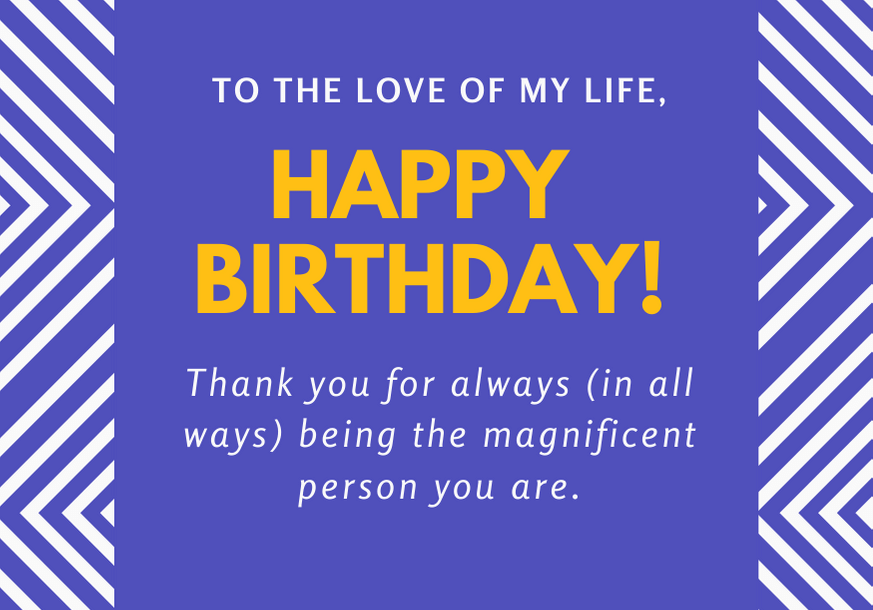 100 cute birthday card messages for a boyfriend with