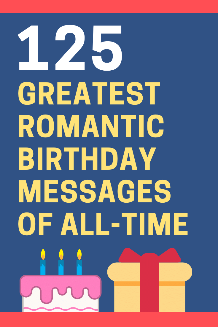 Romantic Birthday Messages