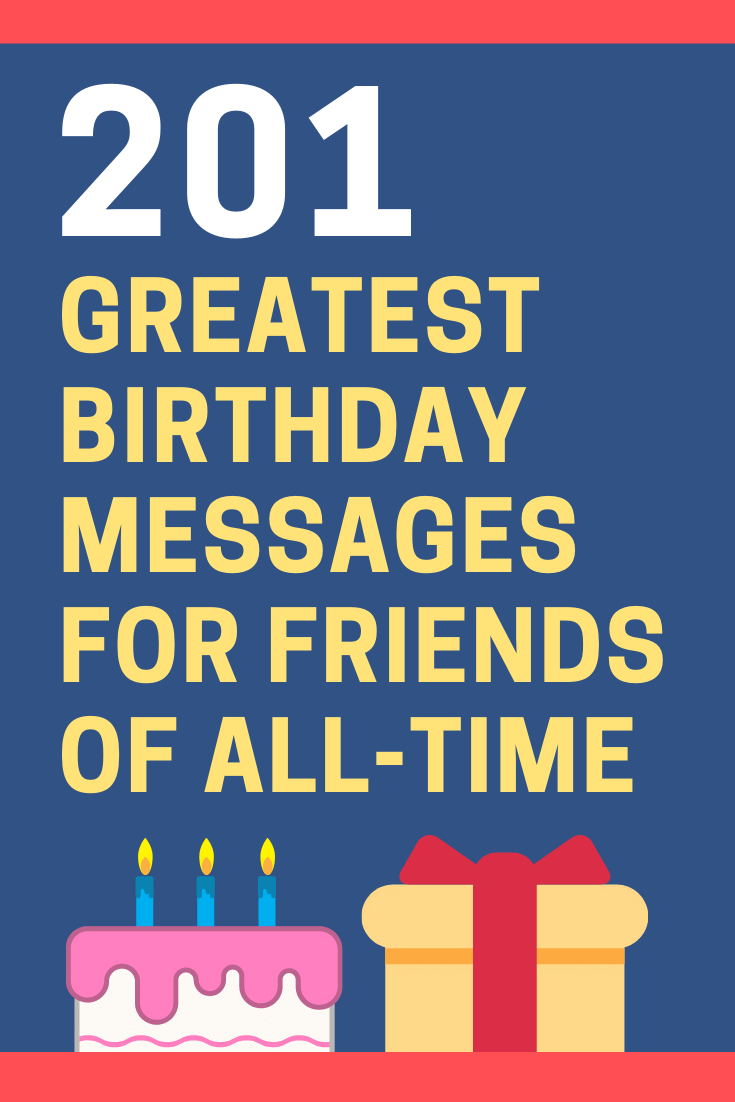 Birthday Messages for Friends