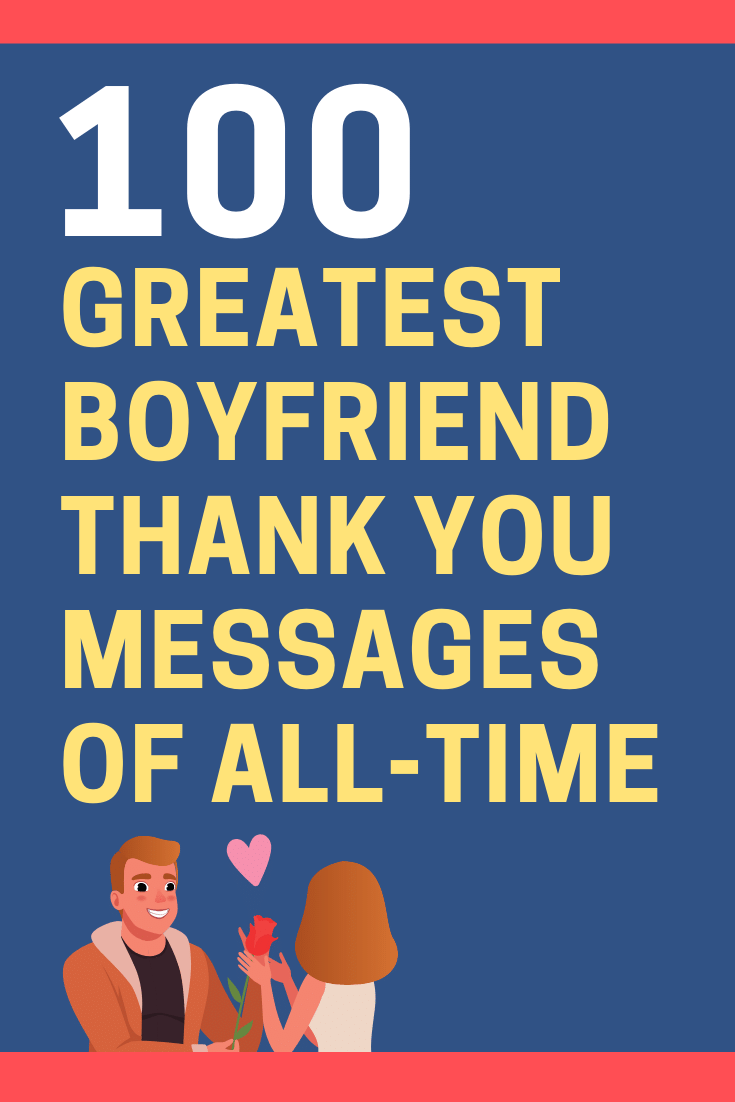 Boyfriend Thank You Messages
