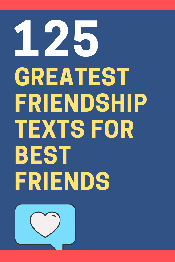 Friendship Text Messages for Best Friends