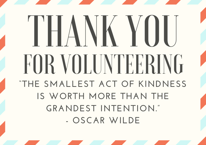 50 Heartfelt Thank You for Volunteering Messages and Quotes |  FutureofWorking.com