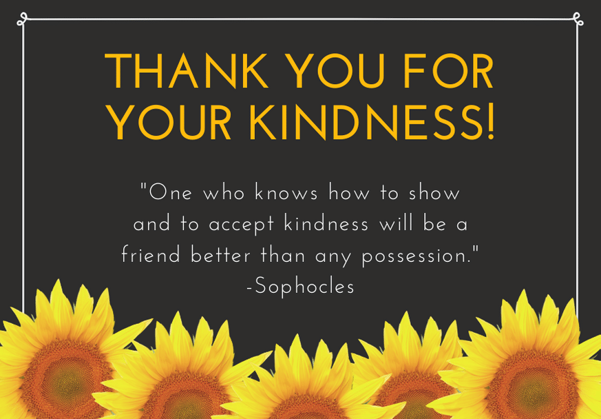 100 Thank You For Your Kindness Messages And Quotes