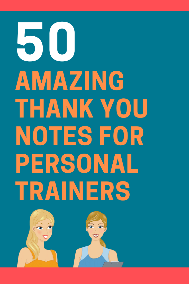 Thank You Notes for Personal Trainers