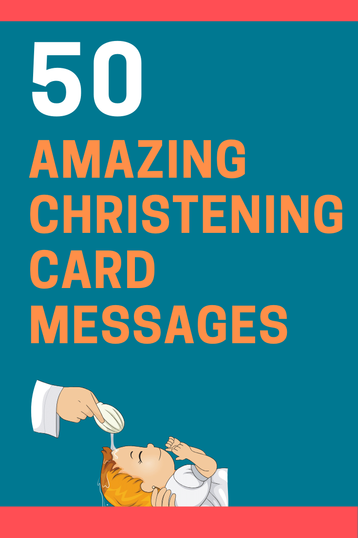 Christening Card Messages