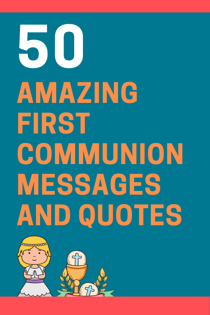 First Communion Card Messages and Quotes