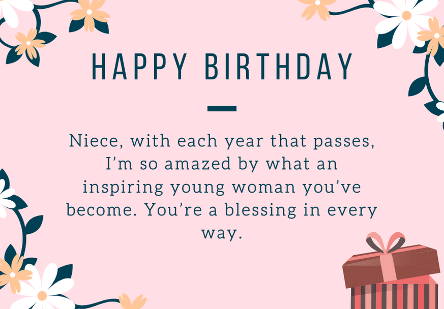 125 Happy Birthday Niece Messages And Quotes Futureofworking Com