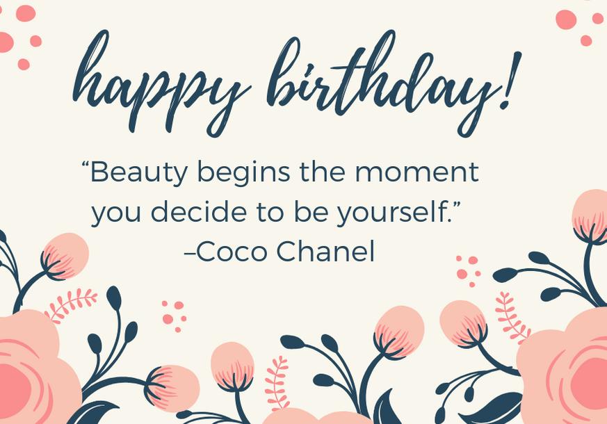 happy-birthday-niece-quote-chanel