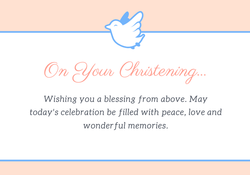 50 Best Christening Card Messages For Baby Dedication Futureofworking Com