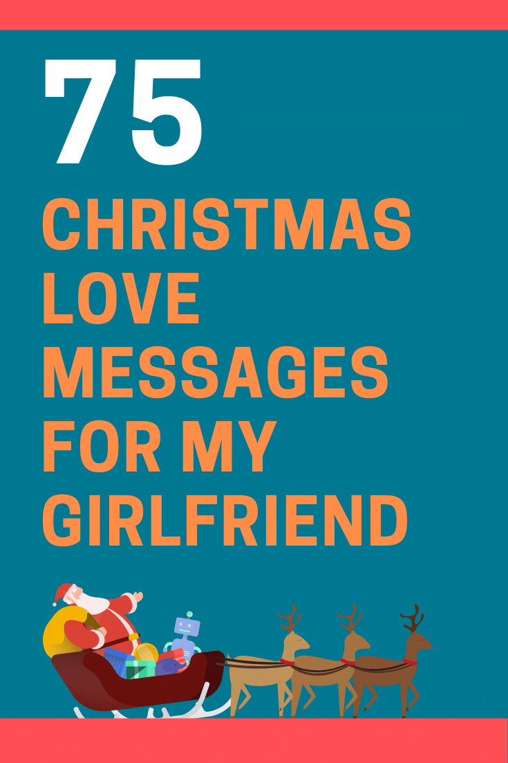 Christmas Love Messages for My Girlfriend