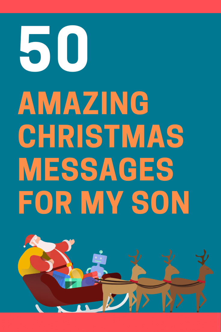 Christmas Messages for My Son