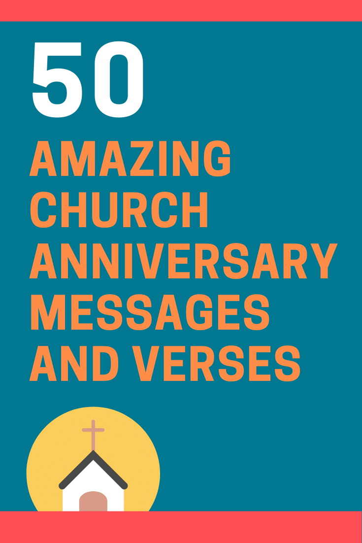 Church Anniversary Messages and Bible Verses