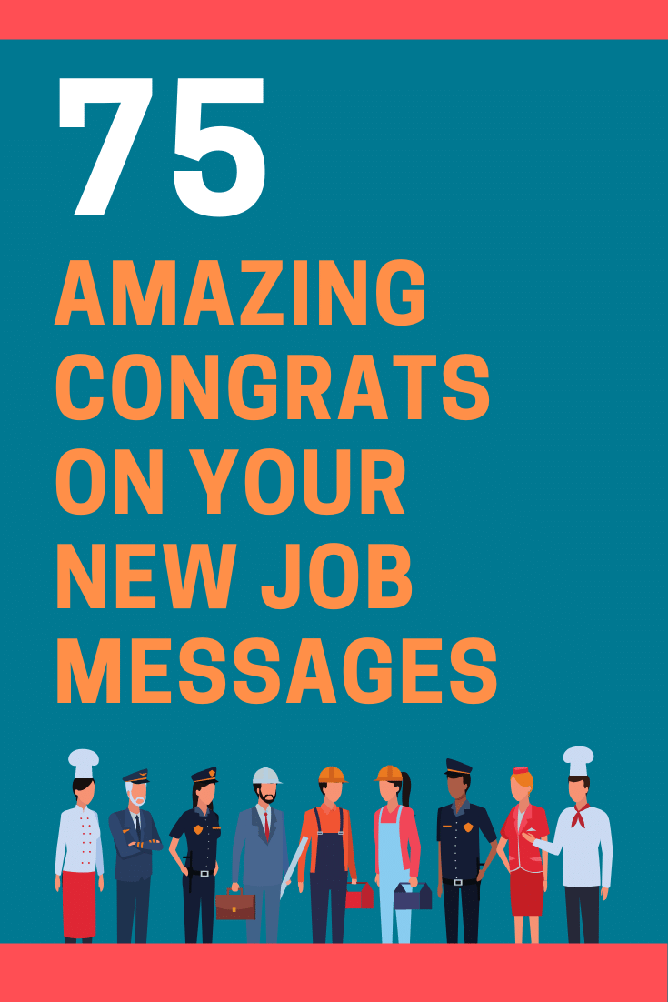 Congratulations on Your New Job Messages and Quotes