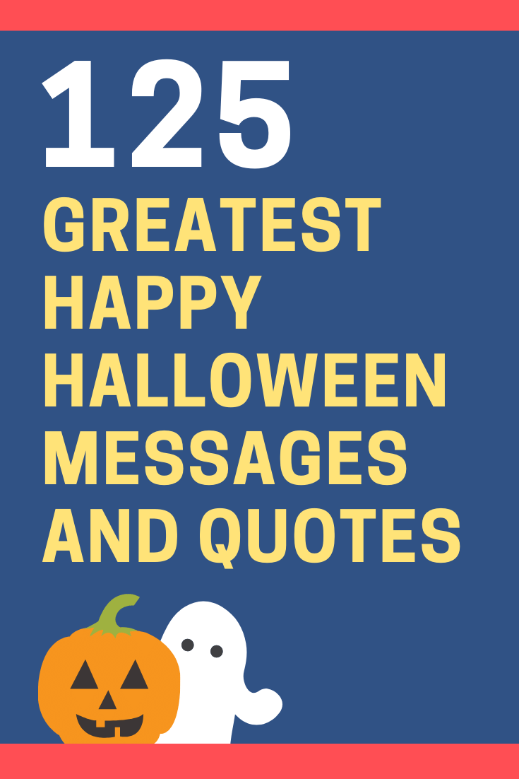 Happy Halloween Messages and Quotes