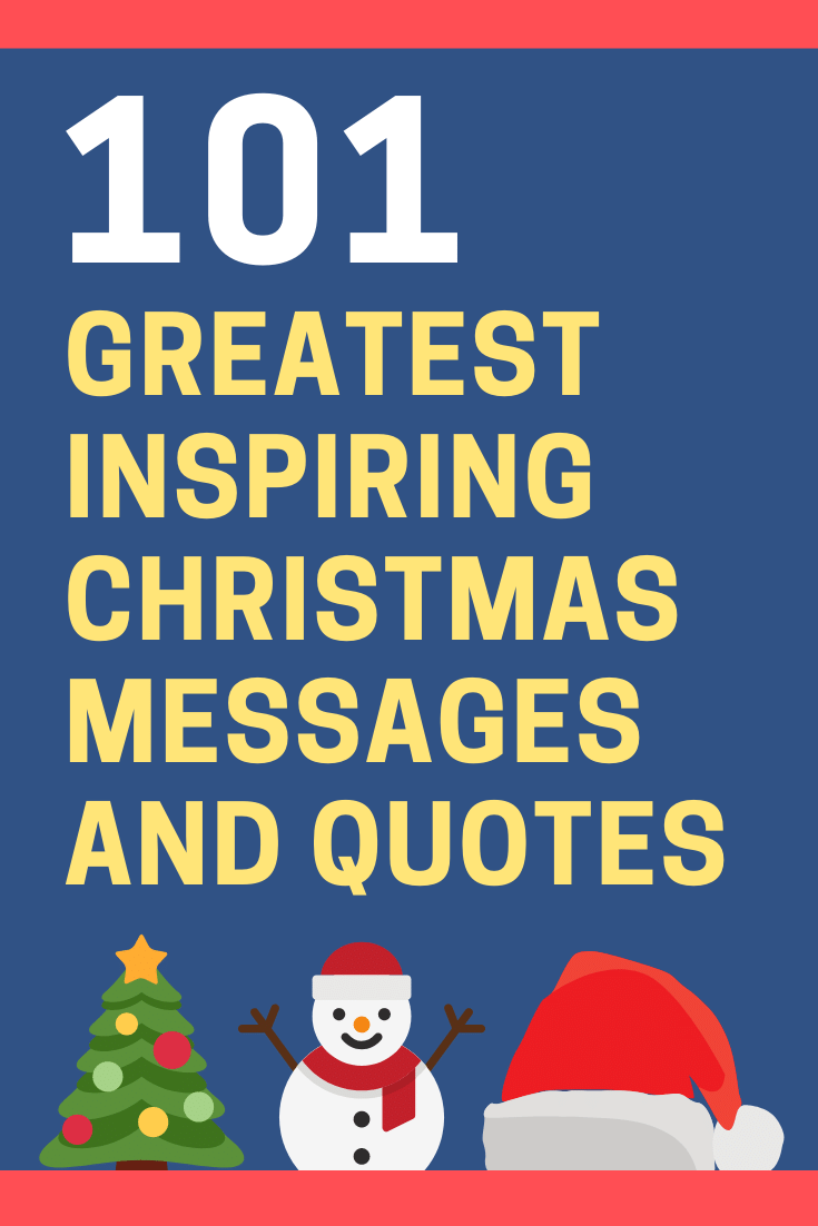 Inspirational Christmas Messages and Quotes