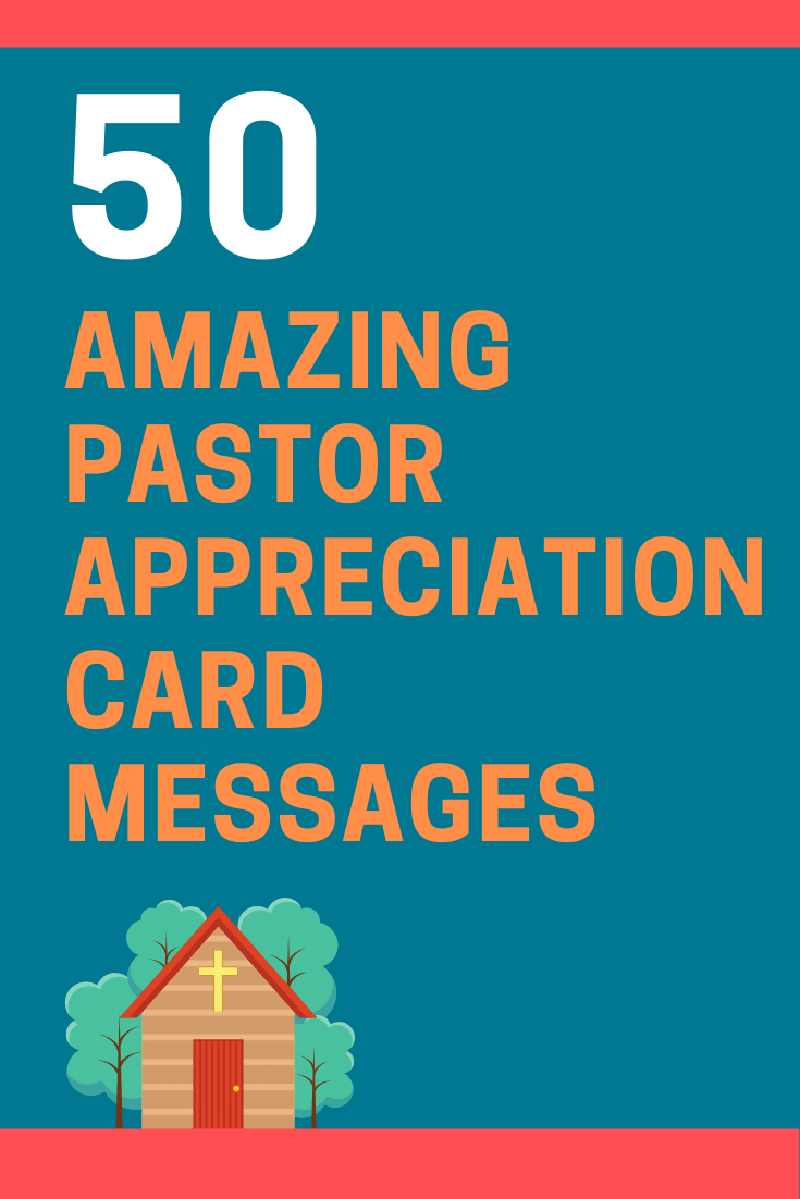 Pastor Appreciation Card Messages and Bible Verses