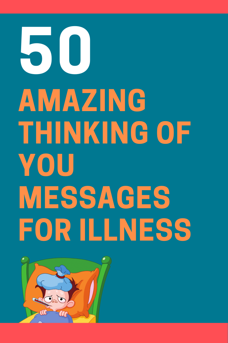 Thinking of You Messages for Illness