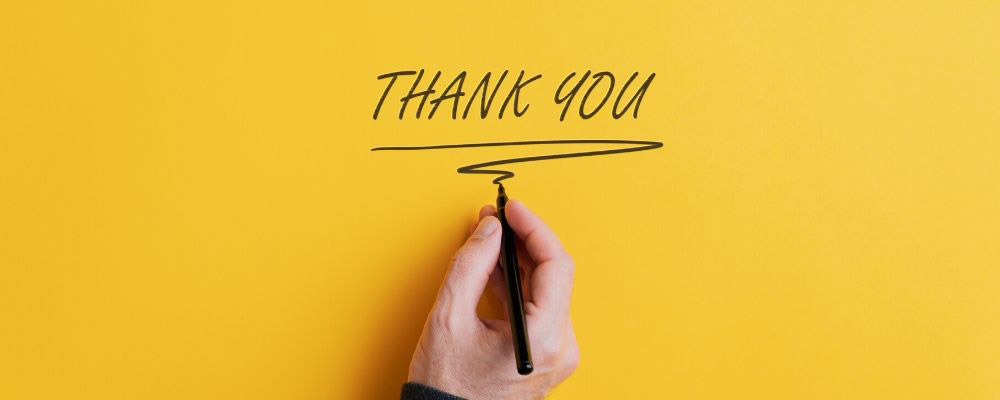Ways to Say Thank You for Your Time and Effort FT