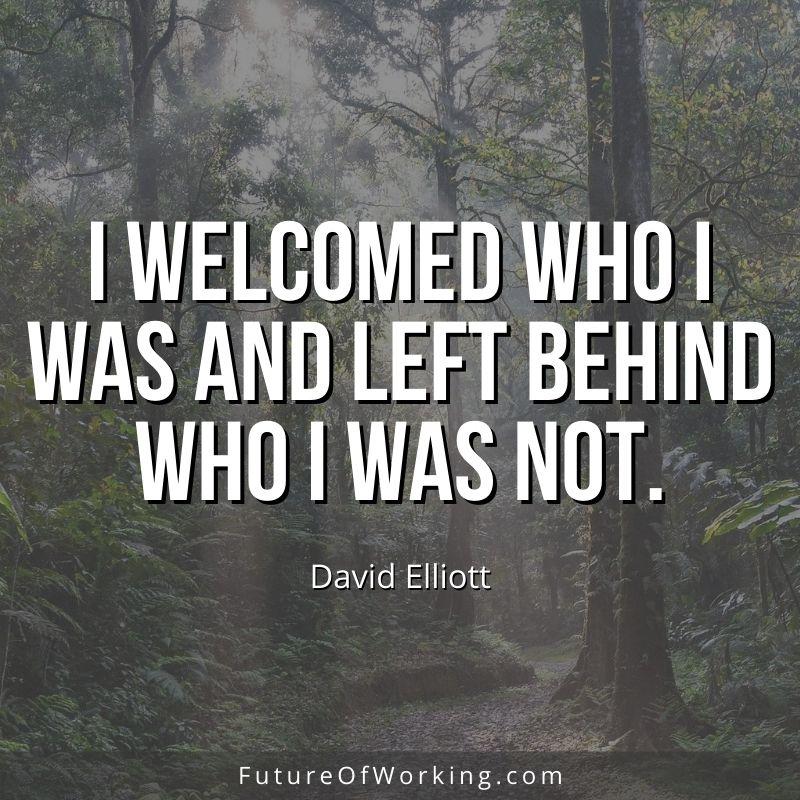 David Elliott Quote