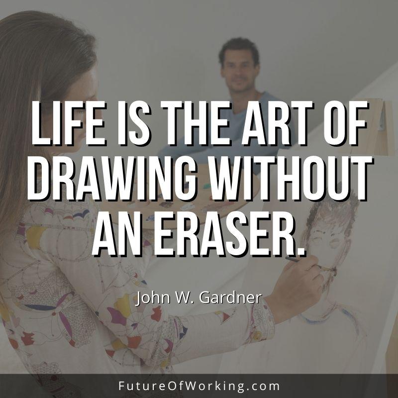 John W Gardner Quote