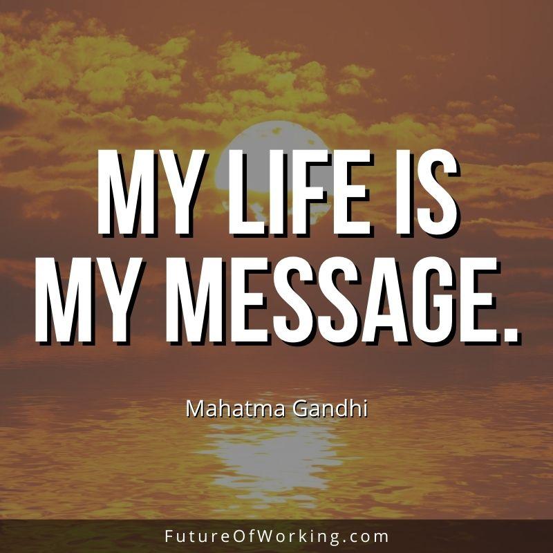Mahatma Gandhi Quote