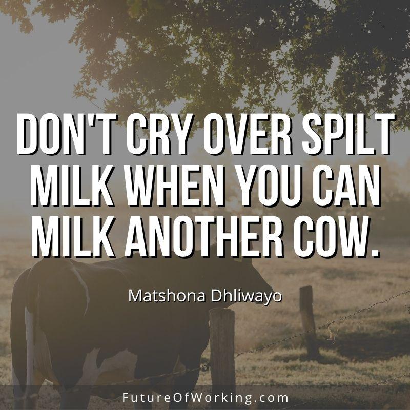 Matshona Dhliwayo Quote