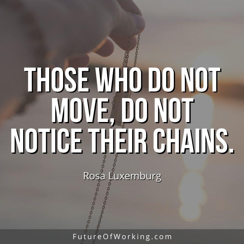 Rosa Luxemburg Quote