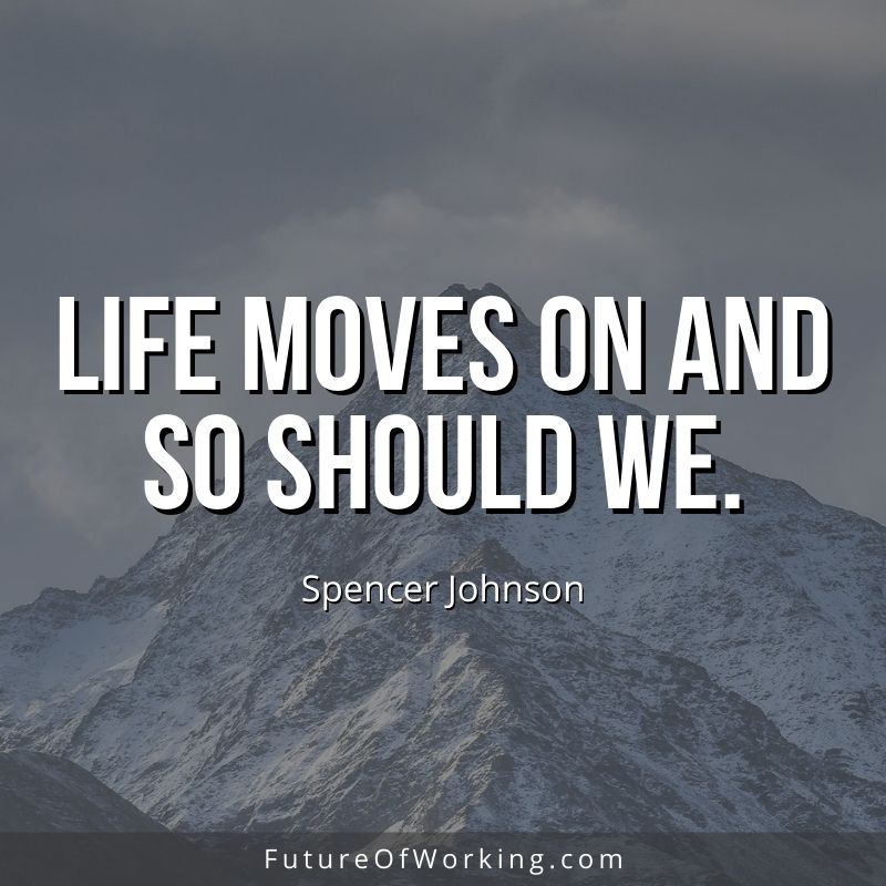 Spencer Johnson Quote